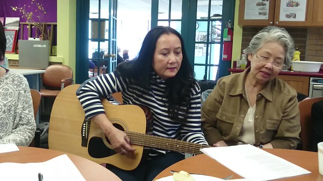 Seniors' Vietnamese Group at West Neighborhood House