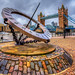 Sundial in HDR by James Neeley
