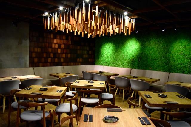 Dining Room at Murakami, Covent Garden | www.rachelphipps.com @rachelphipps