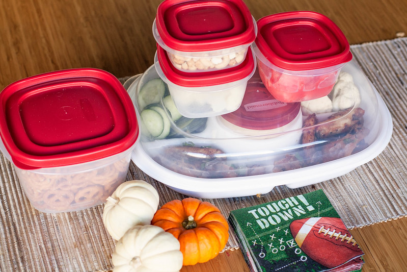 cute & little | tailgating made easy with rubbermaid #td4rubbermaid #ic #ad