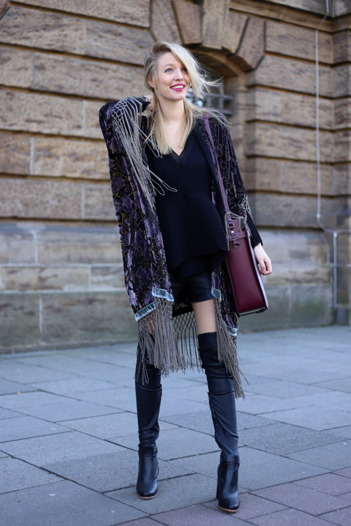 how to wear velvet streetstyle inspiration outfits19