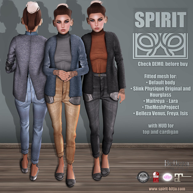 SPIRIT - Blues outfit