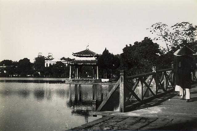 Indochine - Hanoï Vers 1905-10 - Petit Lac - Hồ Gươm