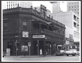 Eagle Hotel, Hindley Street, 1977