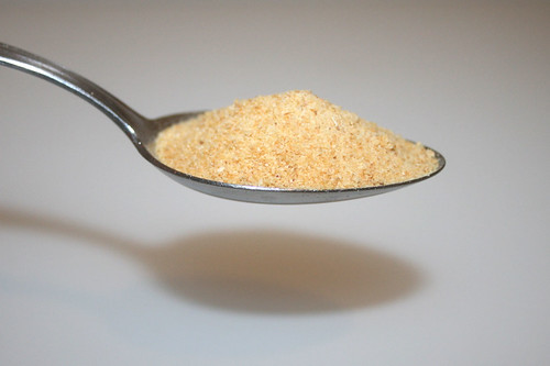 04 - Zutat Knoblauchgranulat / Ingredient garlic granule