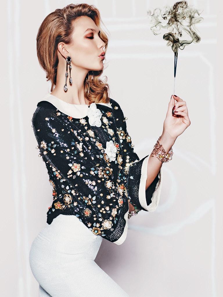 Карли Клосс — Фотосессия для «Vogue» MX 2015 – 8