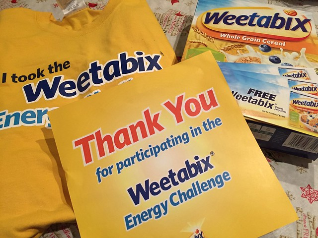 Thank you gift from Weetabix