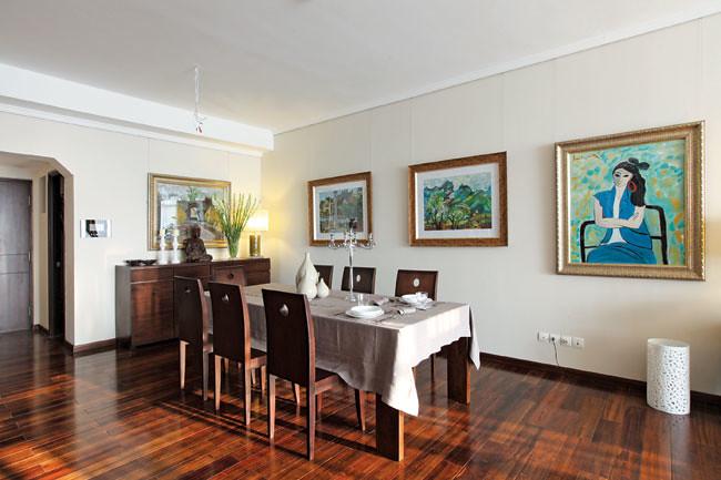 Trang trí nhà cửa với tranh