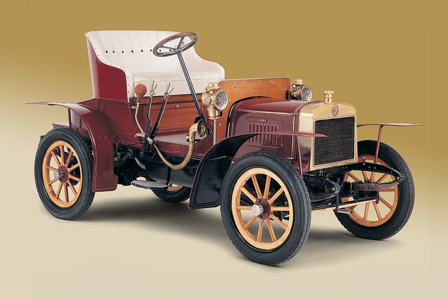 Первый автомобиль Skoda Voiturette A