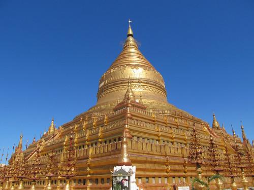 Nyaung U: la pagode Shwezingon Paya