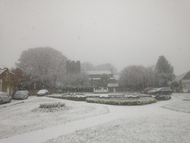 Church Green in snow Dec 15