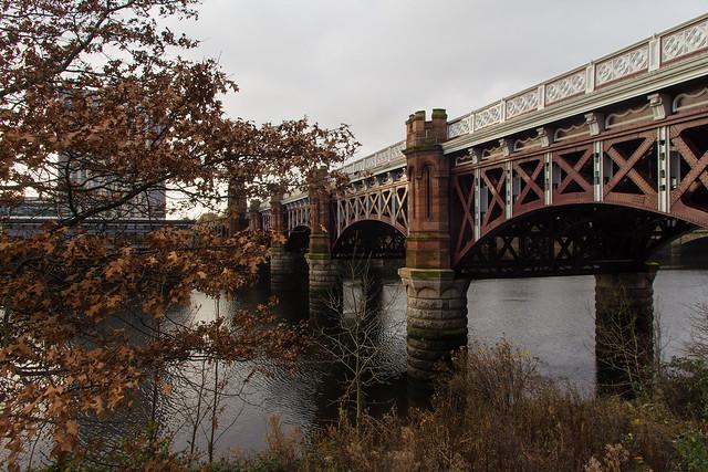 City Union Railway Bridge, Glasgow, Scotland