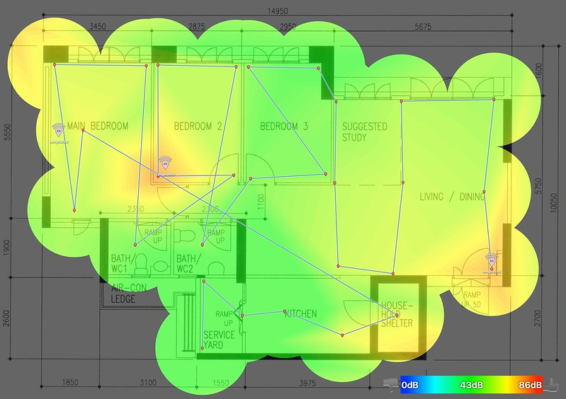 eero - 2.4GHz - Heatmap
