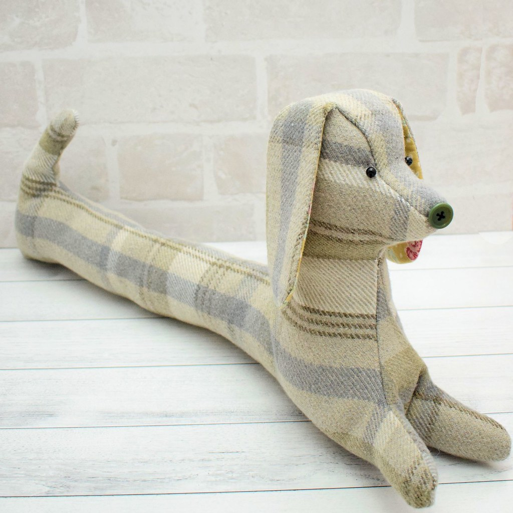 Daisy the Draught Excluder – Bustle & Sew