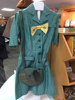 Green Brownie uniform.