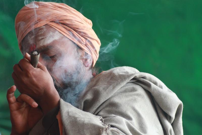 Visit an ashram in India