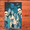One of the great prints in the Ale Giorgini series see them in the gallery or online #richardgoodallgallery Star Wars #alegiorgini #movieposters
