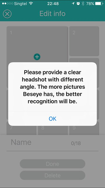 Beseye Pro - iOS App - Stranger Invasion - Photos