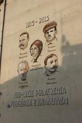 Mural na 100-lecie