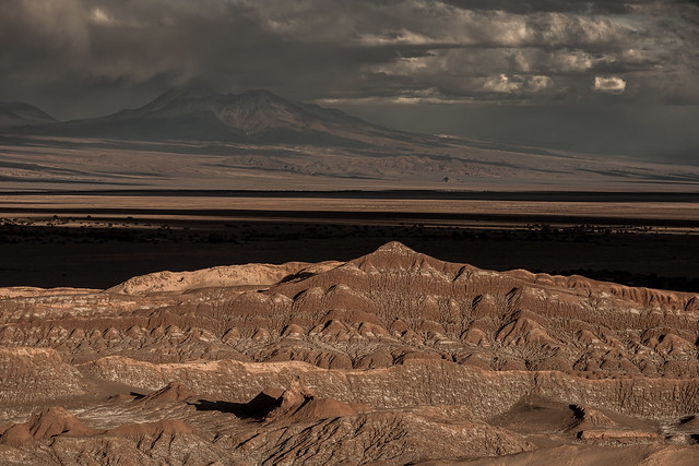 Stormy Salar de Atacama