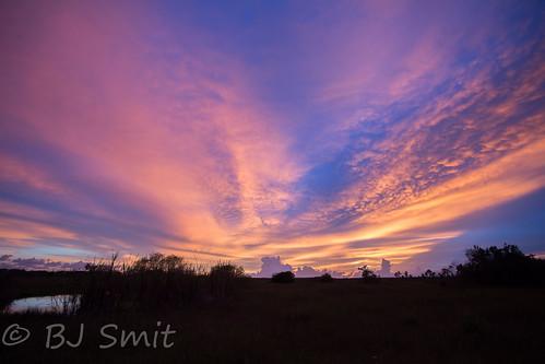 sunset usa unitedstates florida everglades bluehour ochopee 2015 bartappletv