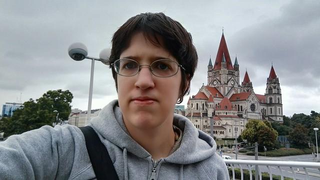 Selfie mit der Mexikokirche