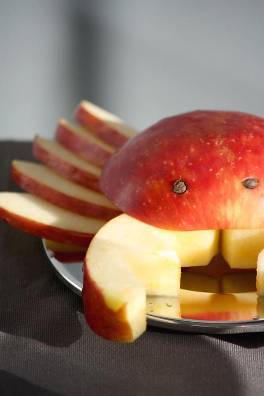 Omenasta rapu Kaikki Paketissa