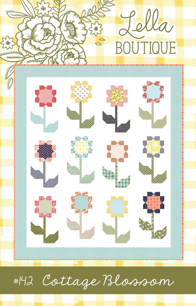 Cottage Blossoms quilt pattern
