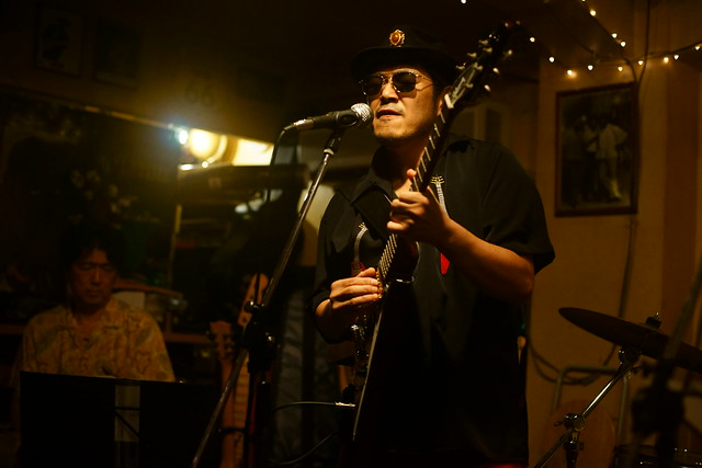 Blues live at Bright Brown, Tokyo, 16 Aug 2015. 033