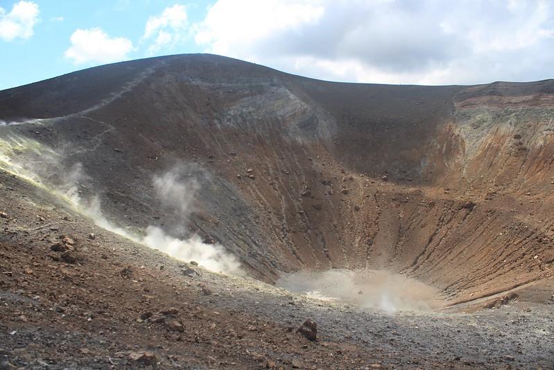 Vulcano: Crater