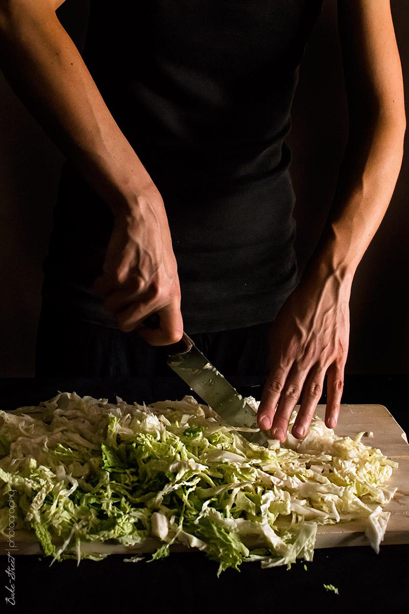 Cómo hacer chucrut - sauerkraut
