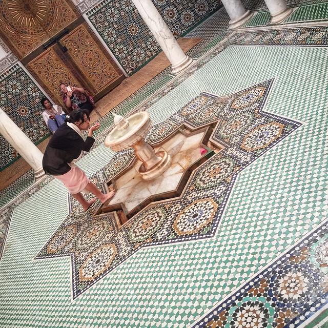 The Mausoleum in Meknes