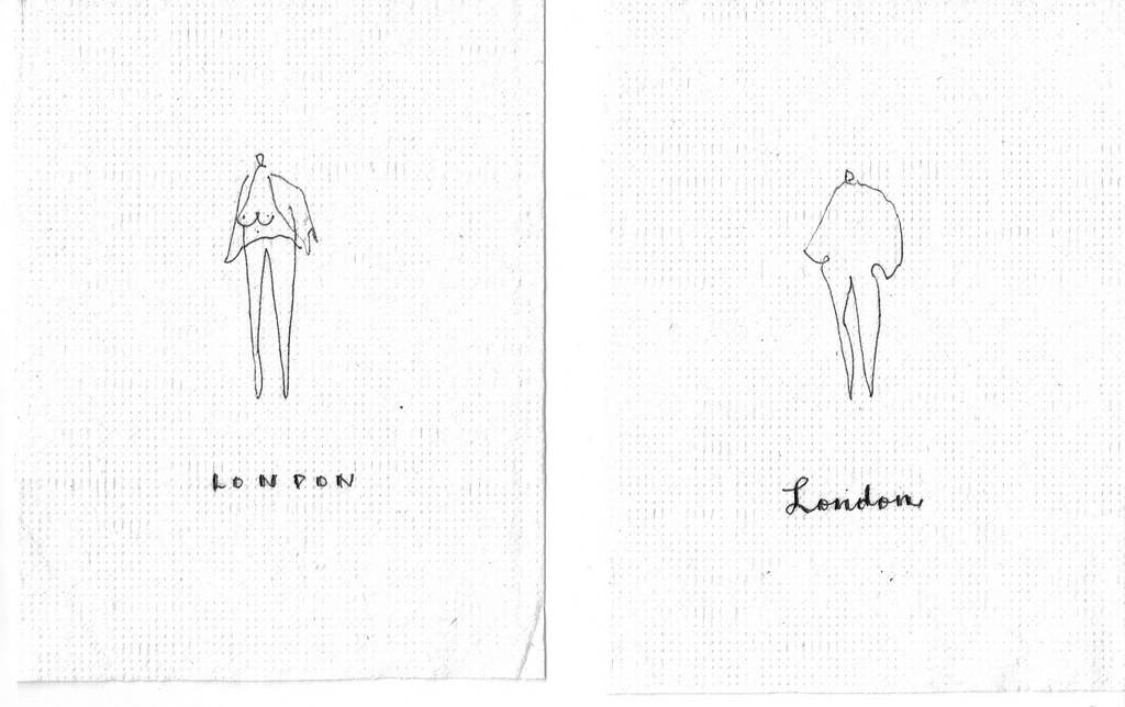 People in a napkin