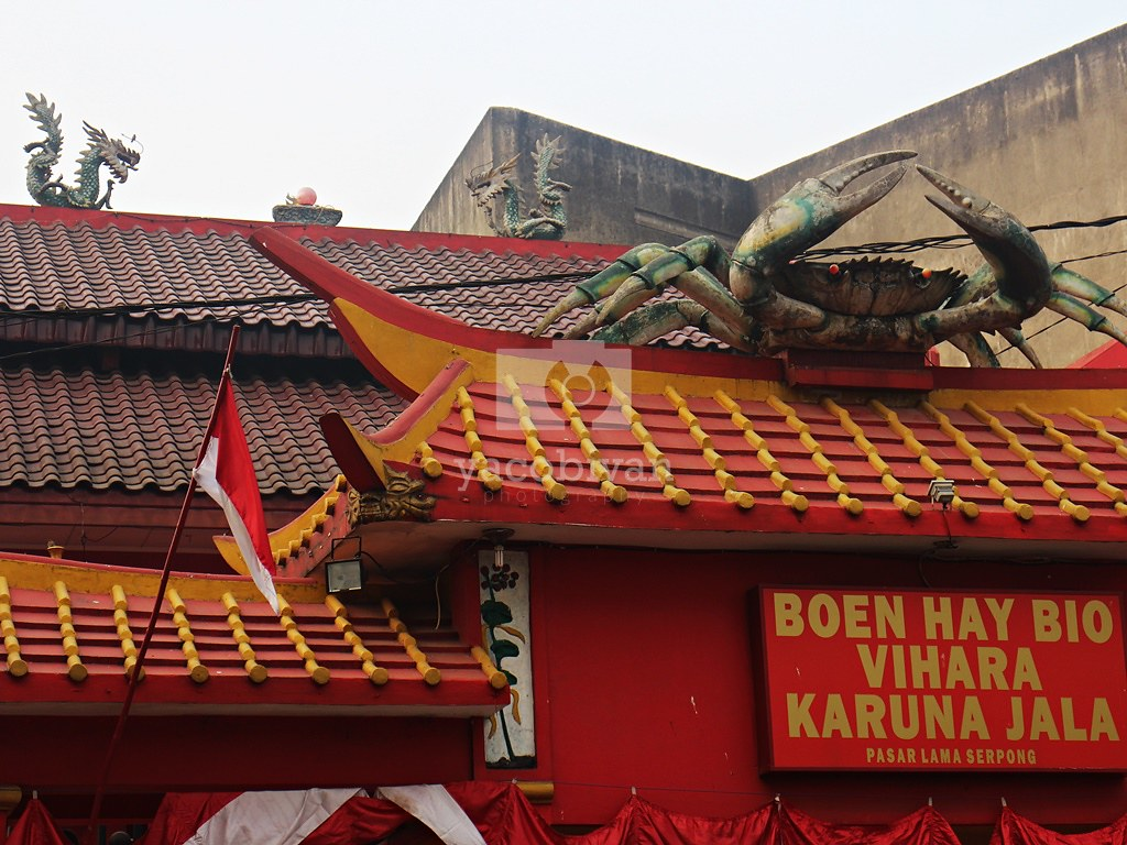 Ornamen Kepiting dan Naga