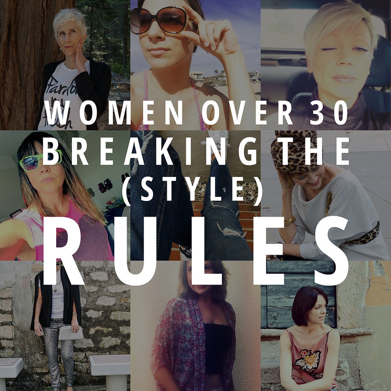 Women over 30 breaking the (style) rules #iwillwearwhatilike