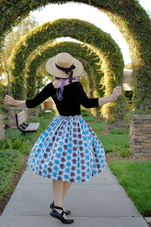When Decades Collide Vintage Skirt