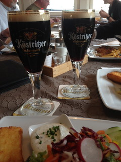 Schwarzbier at lunch