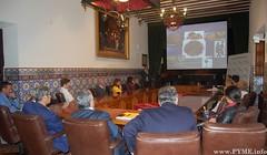 Instante de la ponencia 'Somos lo que comemos' a cargo del Dr. Luis Santiago.