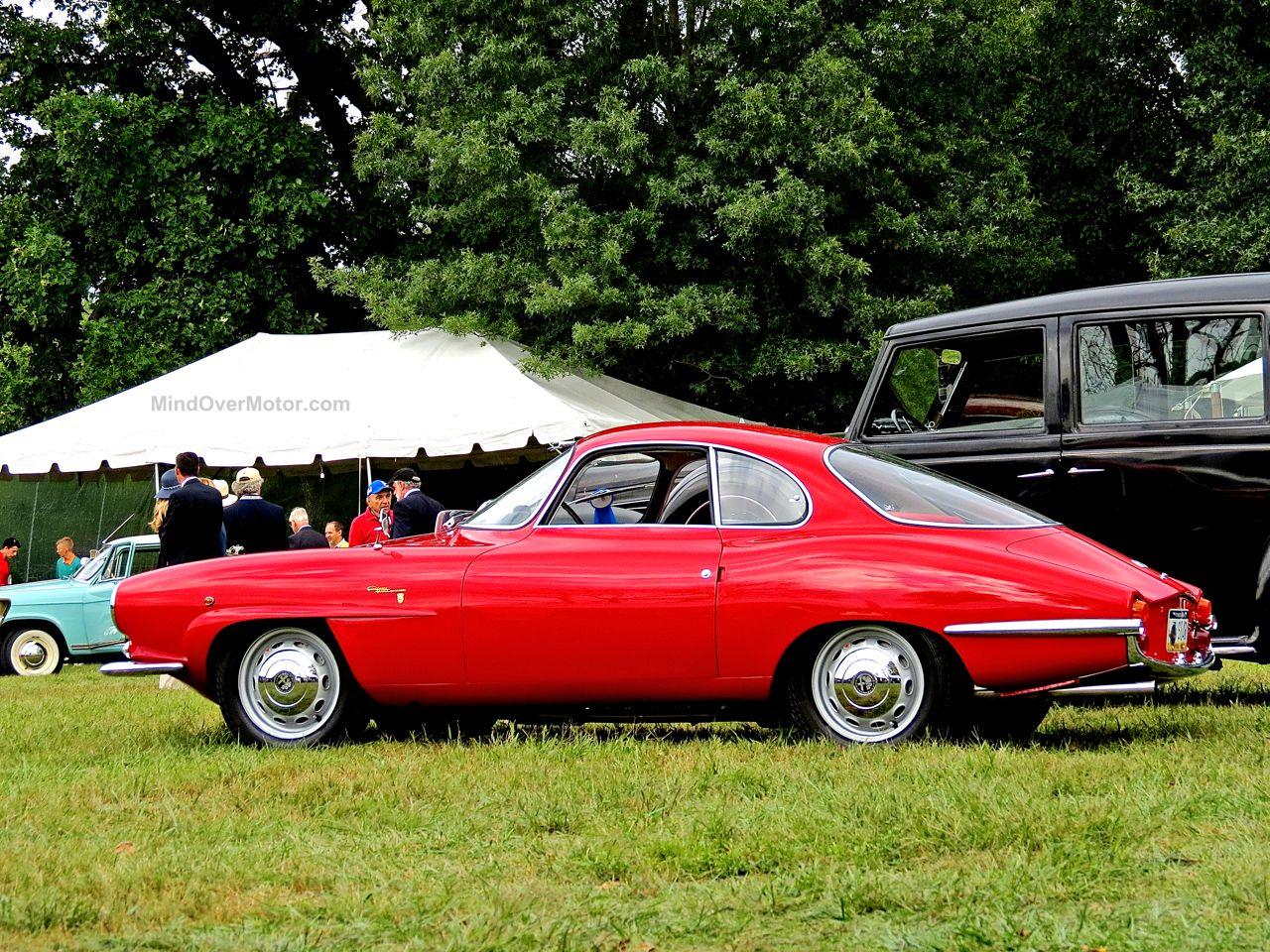 Radnor Hunt Alfa Romeo Giulietta Sprint Speciale Side