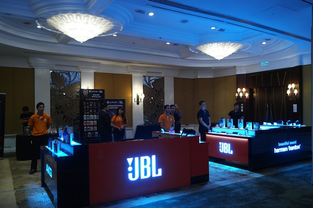 JBL-Harman product launch
