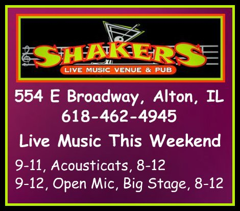 Shakers 9-11,12-15