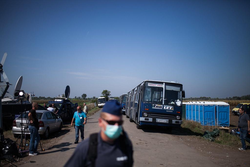 Menekülthelyzet Röszke térségében