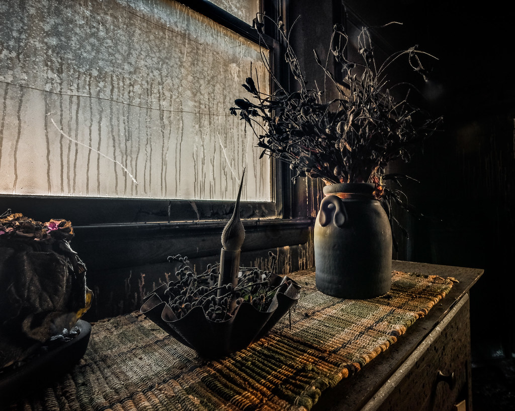 The Fire: Still Life with Soot