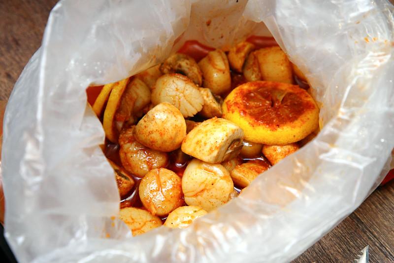 Cajun-boiled-scallops