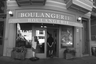 La Boulangerie - Store Front bw by roland luistro, on Flickr