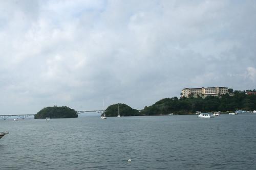 06 - Samana bay view / Blick in die Bucht von Samana