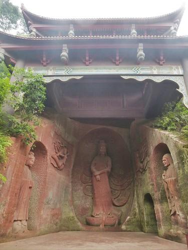 CH-Leshan-Bouddha oriental (2)