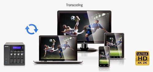 TVS-471 4K Transcoding