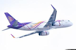 Thai Smile Airbus A320-232(WL) cn 6795 F-WWBF // HS-TXU