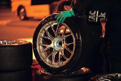 Reinigen der Reifen - BBS - DTM - Portugal 2004